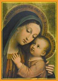 Znalezione obrazy dla zapytania matka boża dobrej rady